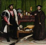 800px hans holbein the younger the ambassadors google art project