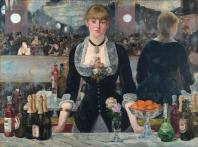 Edouard manet bar folies bergere