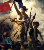 La liberte guidant le peuple detail